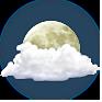 Muy nublado (noche)