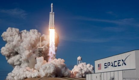 SpaceX con destino a la Estación Espacial Internacional